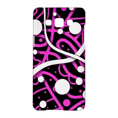 Purple harmony Samsung Galaxy A5 Hardshell Case