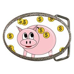 Piggy bank  Belt Buckles