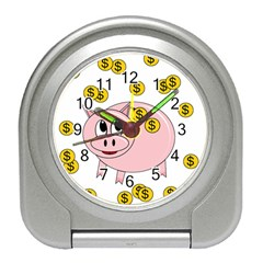 Piggy bank  Travel Alarm Clocks