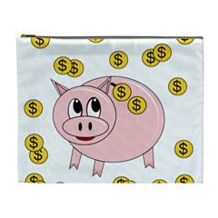 Piggy bank  Cosmetic Bag (XL)