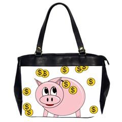 Piggy bank  Office Handbags (2 Sides)