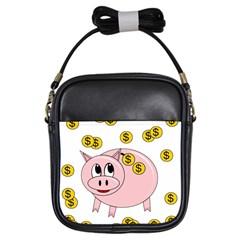 Piggy bank  Girls Sling Bags