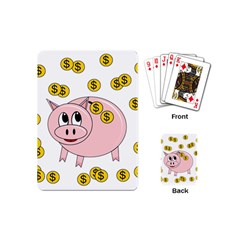 Piggy bank  Playing Cards (Mini)