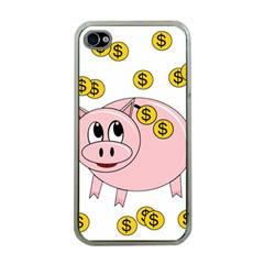 Piggy bank  Apple iPhone 4 Case (Clear)