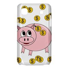 Piggy bank  Samsung Galaxy SL i9003 Hardshell Case