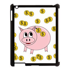 Piggy bank  Apple iPad 3/4 Case (Black)