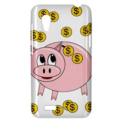 Piggy bank  HTC Desire VT (T328T) Hardshell Case