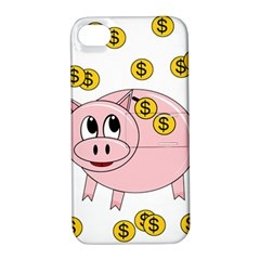 Piggy bank  Apple iPhone 4/4S Hardshell Case with Stand