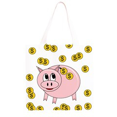 Piggy bank  Grocery Light Tote Bag