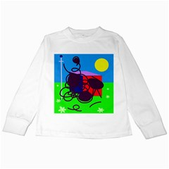 Sunny day Kids Long Sleeve T-Shirts