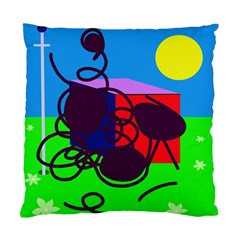 Sunny day Standard Cushion Case (One Side)