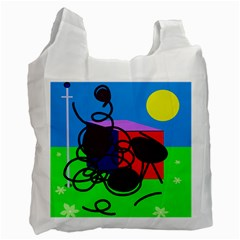 Sunny day Recycle Bag (One Side)