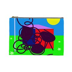 Sunny day Cosmetic Bag (Large)