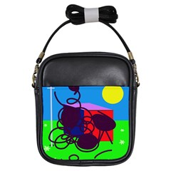 Sunny day Girls Sling Bags
