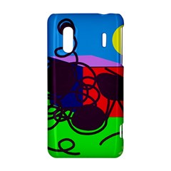 Sunny day HTC Evo Design 4G/ Hero S Hardshell Case