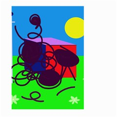 Sunny day Large Garden Flag (Two Sides)