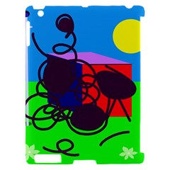 Sunny day Apple iPad 2 Hardshell Case (Compatible with Smart Cover)