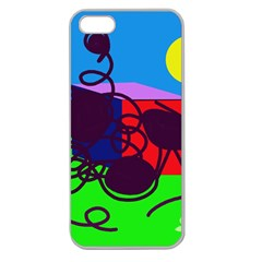 Sunny day Apple Seamless iPhone 5 Case (Clear)