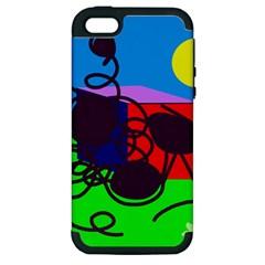 Sunny day Apple iPhone 5 Hardshell Case (PC+Silicone)