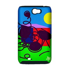 Sunny day Samsung Galaxy Note 2 Hardshell Case (PC+Silicone)