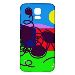 Sunny day Samsung Galaxy S5 Back Case (White)