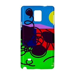 Sunny day Samsung Galaxy Note 4 Hardshell Case
