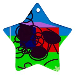 Sunny day Ornament (Star)