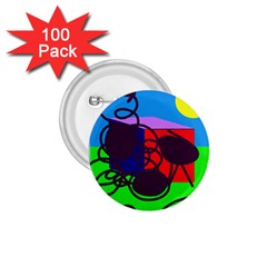 Sunny day 1.75  Buttons (100 pack)