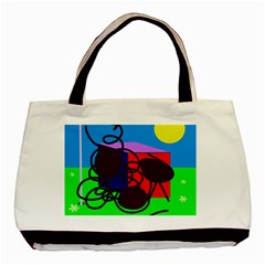 Sunny day Basic Tote Bag (Two Sides)