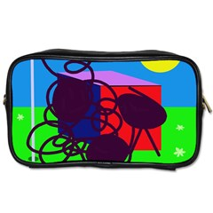 Sunny day Toiletries Bags 2-Side
