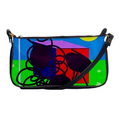 Sunny day Shoulder Clutch Bags