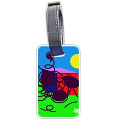 Sunny day Luggage Tags (Two Sides)