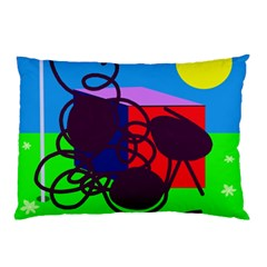 Sunny day Pillow Case (Two Sides)