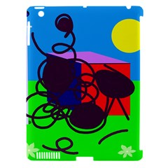 Sunny day Apple iPad 3/4 Hardshell Case (Compatible with Smart Cover)