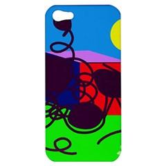 Sunny day Apple iPhone 5 Hardshell Case
