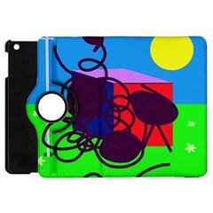 Sunny day Apple iPad Mini Flip 360 Case