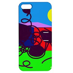 Sunny day Apple iPhone 5 Hardshell Case with Stand