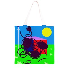 Sunny day Grocery Light Tote Bag