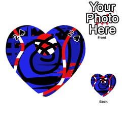 Follow me Playing Cards 54 (Heart)