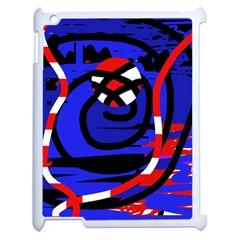 Follow me Apple iPad 2 Case (White)