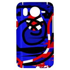 Follow me HTC Desire HD Hardshell Case