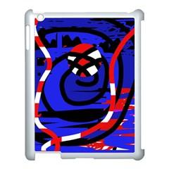 Follow me Apple iPad 3/4 Case (White)