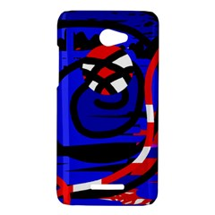 Follow me HTC Butterfly X920E Hardshell Case
