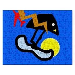 Little bird Rectangular Jigsaw Puzzl
