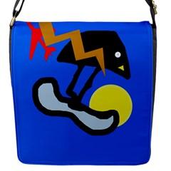 Little bird Flap Messenger Bag (S)
