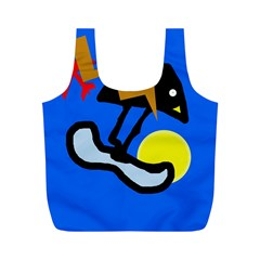 Little bird Full Print Recycle Bags (M)