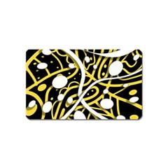 Yellow movement Magnet (Name Card)
