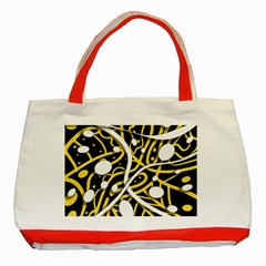 Yellow Movement Classic Tote Bag (red)