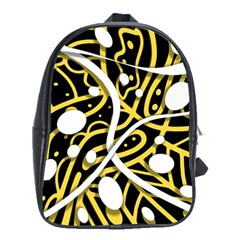 Yellow movement School Bags(Large)