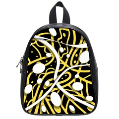 Yellow movement School Bags (Small)